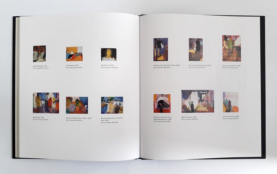 Sargy Mann, Late Paintings, spread 4